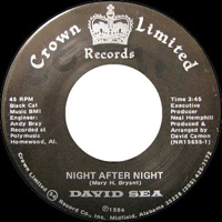David Sea - Night after night (Crown Limited)
