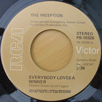 The Inception ‎– Everybody Loves A Winner