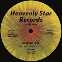 Tony Gray & Beverly Lee ‎– Moan For Love